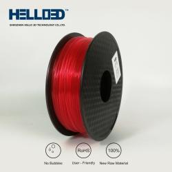 HELLO3D Filament PLA Orange transparant
